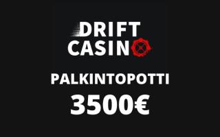 Drift casino kilpailu